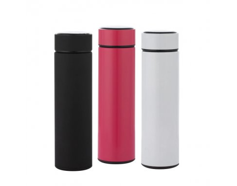 Stainless Steel Thermal Bottle with LCD Touch Screen_PD294R