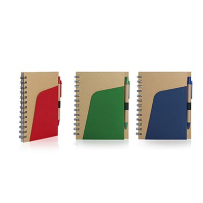 A5 ECO NOTEBOOK WITH PEN_PS1028ENB
